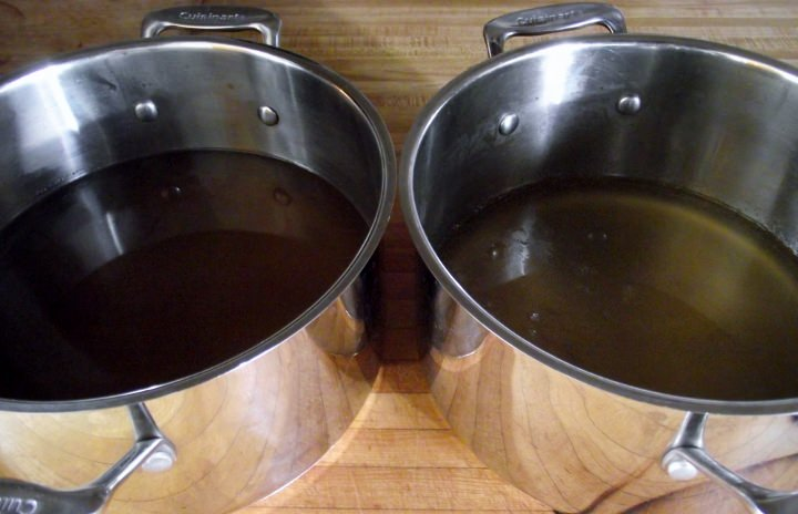 Beef Stock and Remouillage