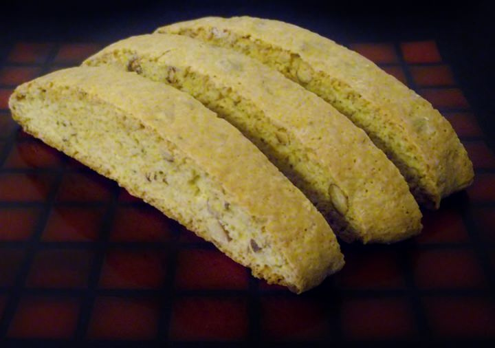 Anise and almond biscotti.