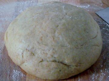 Cardamom bread dough