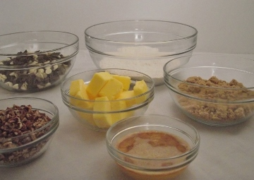 Chocolate Chip Mise En Place