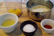 Hollandaise Ingredients