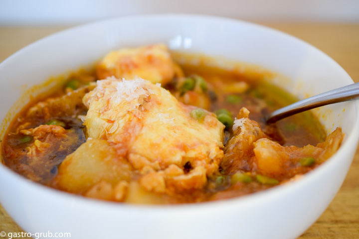 Italian egg stew.