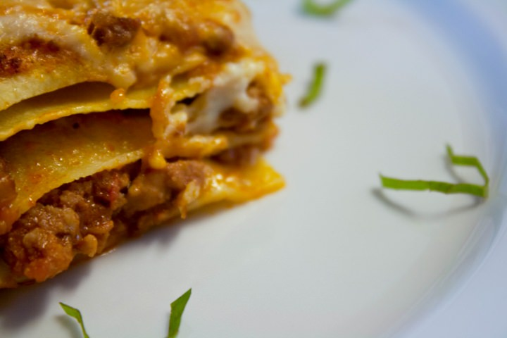 Authentic Lasagna Bolognese