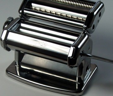 Imperia pasta machine.