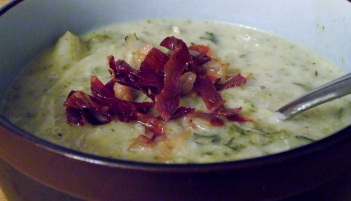 Healthy, Yummy, And Easy Potato Soup.