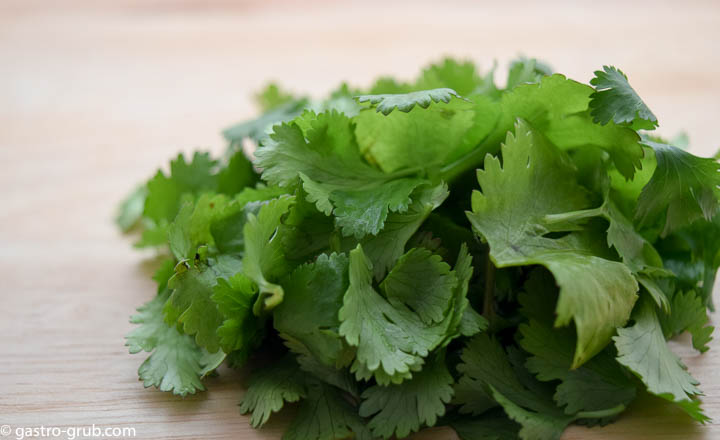 Cilantro for Spanish rice.