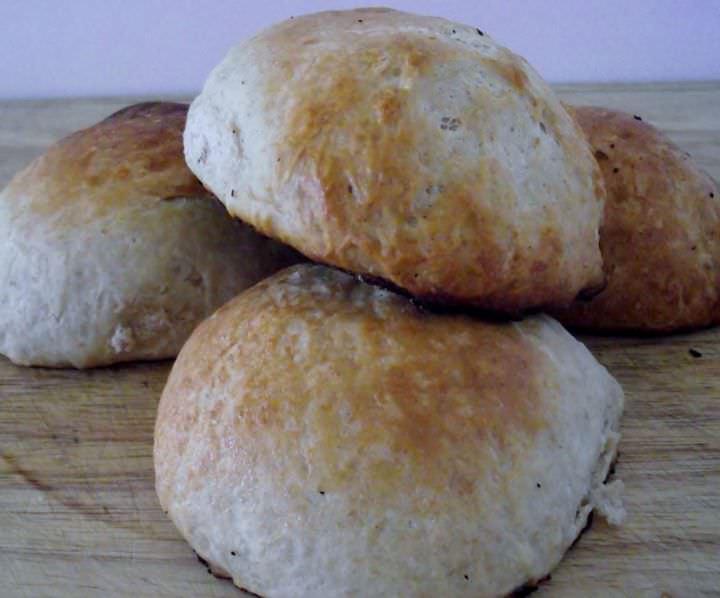 Sweet sandwich rolls.