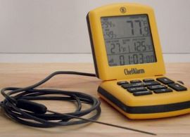 Digital probe thermometer.