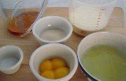 Eggnog ingredients