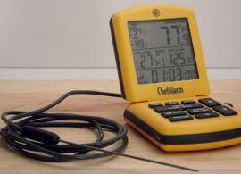 Digital probe thermometer.